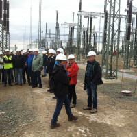 Bau Umspannwerk Bergrheinfeld West