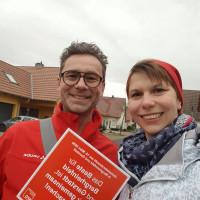Dialog Aktion der SPD Bergrheinfeld zur Kommunalwahl 2020